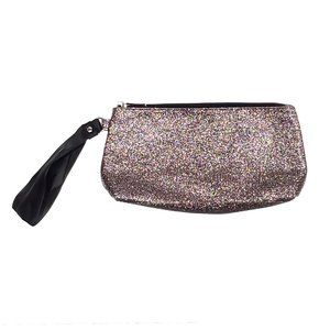 MARY KAY Glitter Make-up Bag Cosmetic Case Clutch